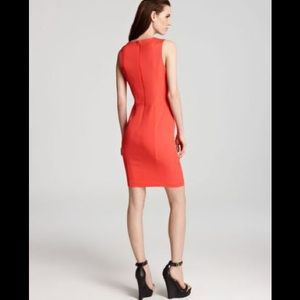 French connection glamour stretch cutout dress